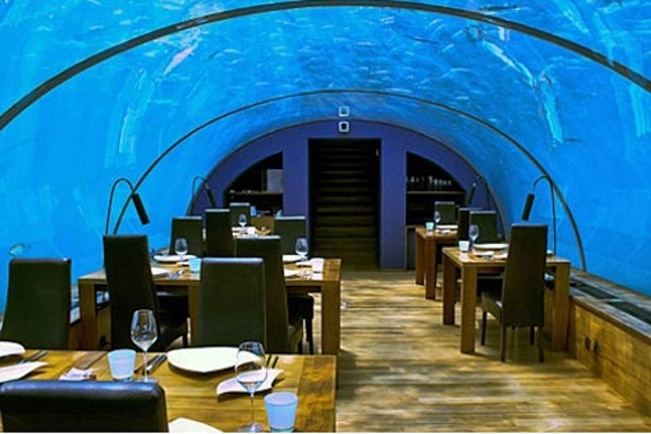 Underwater Dining, Maldives