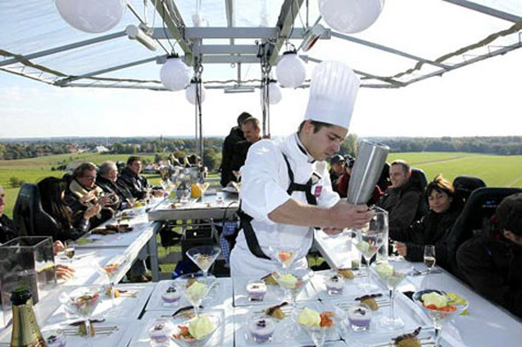 Dinner in the Sky, worldwide