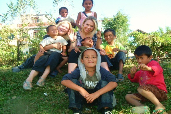 Help children in Nepal