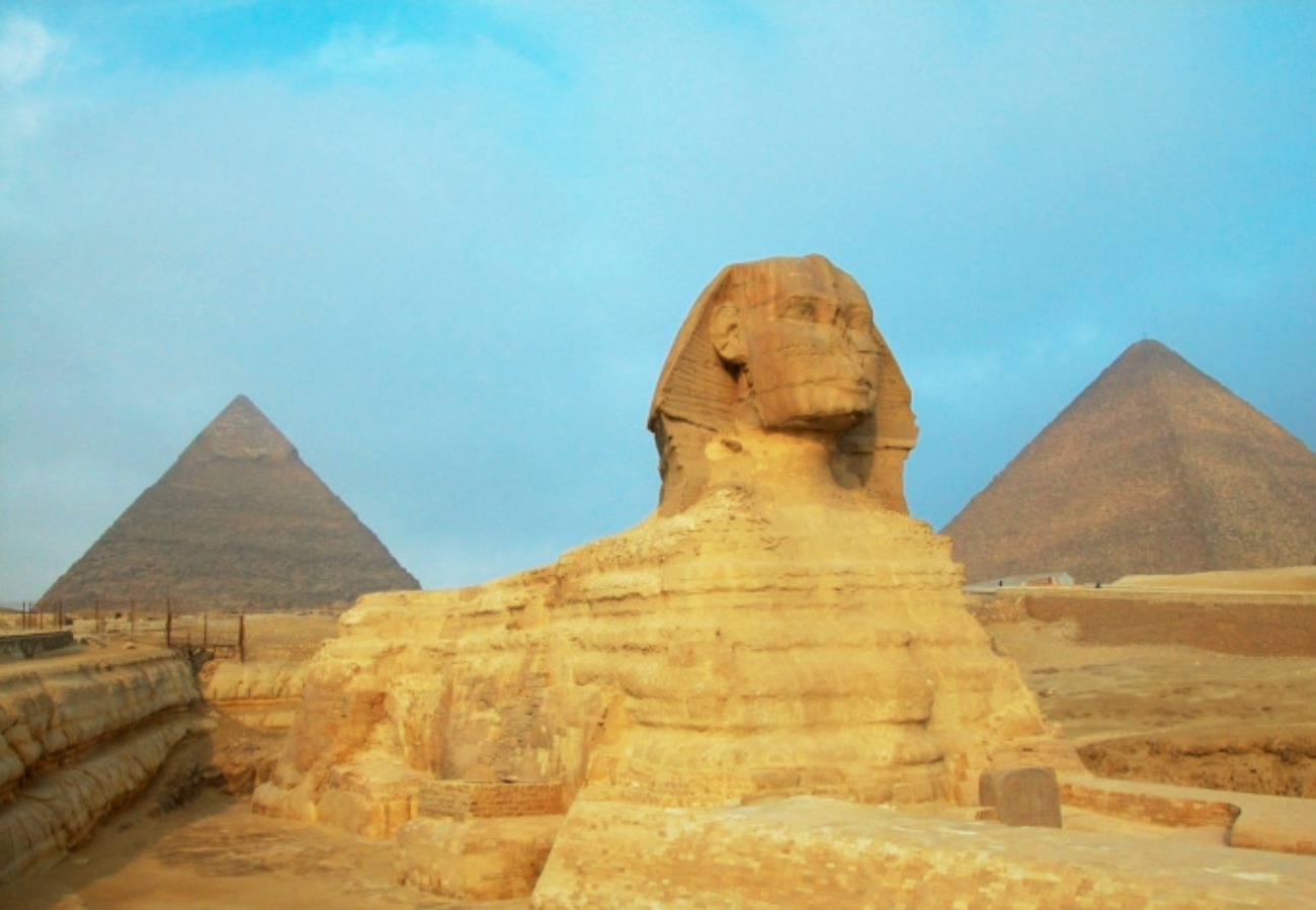 <b>The Great Pyramids and the Sphinx</b>