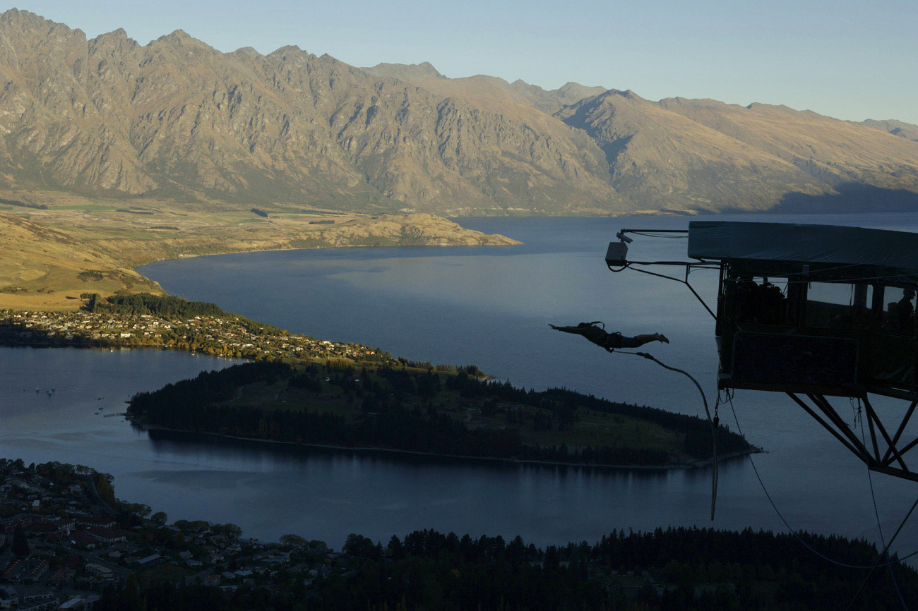 Here you can go bungee jumping in the place that invented the sport, ...