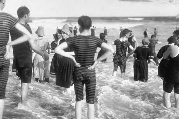 Vintage beachwear