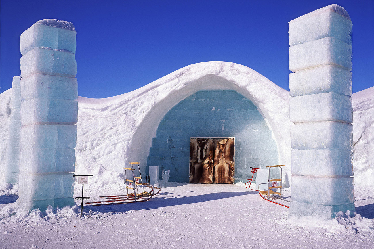 <b>Stay in an Ice Hotel in Sweden</b>