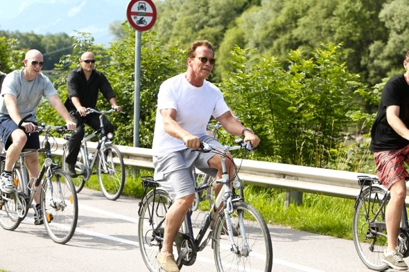 Arnold Schwarzenegger in Austria