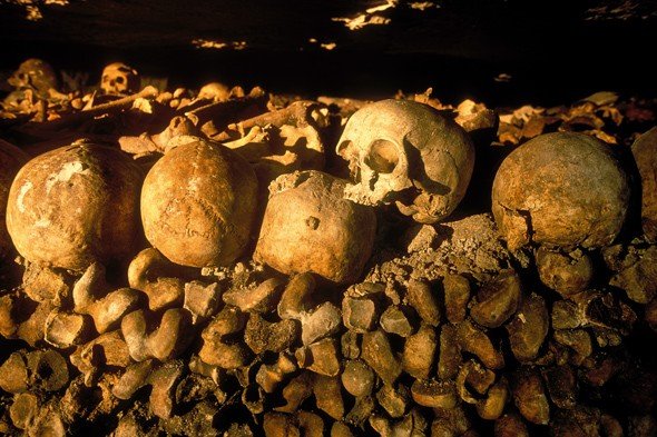 Scare yourself silly at the Catacombs