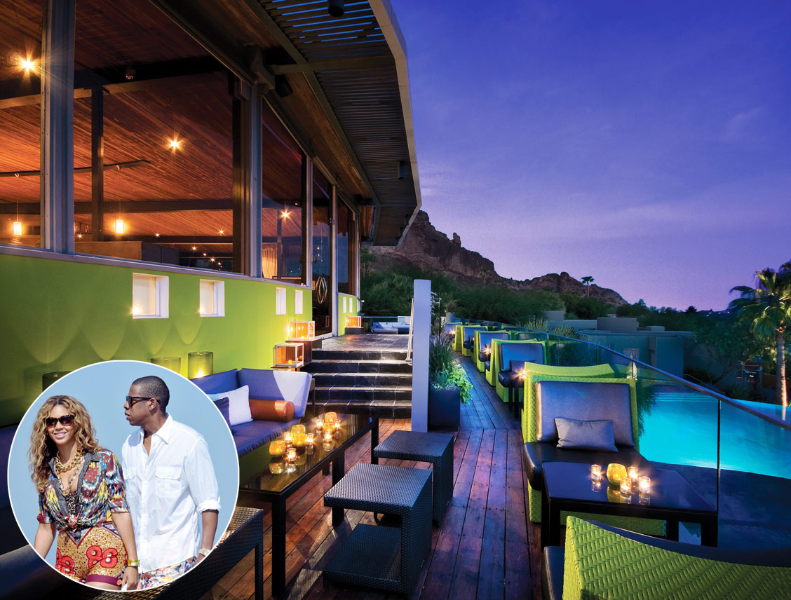 &lt;b&gt;Beyonce and Jay-Z, Sanctuary on Camelback Resort &amp; Spa, Arizona&lt;/b&gt;