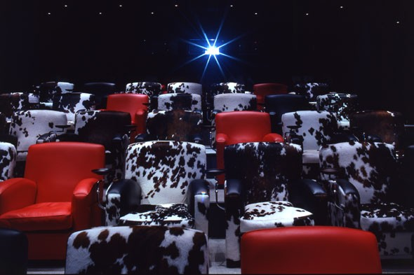 Watch the latest flick at the Soho Hotel's cinema
