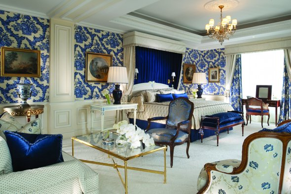 The Royal Suite, Four Seasons George V, Paris