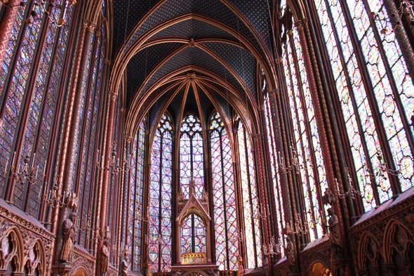 Be inpired by Sainte-Chapelle