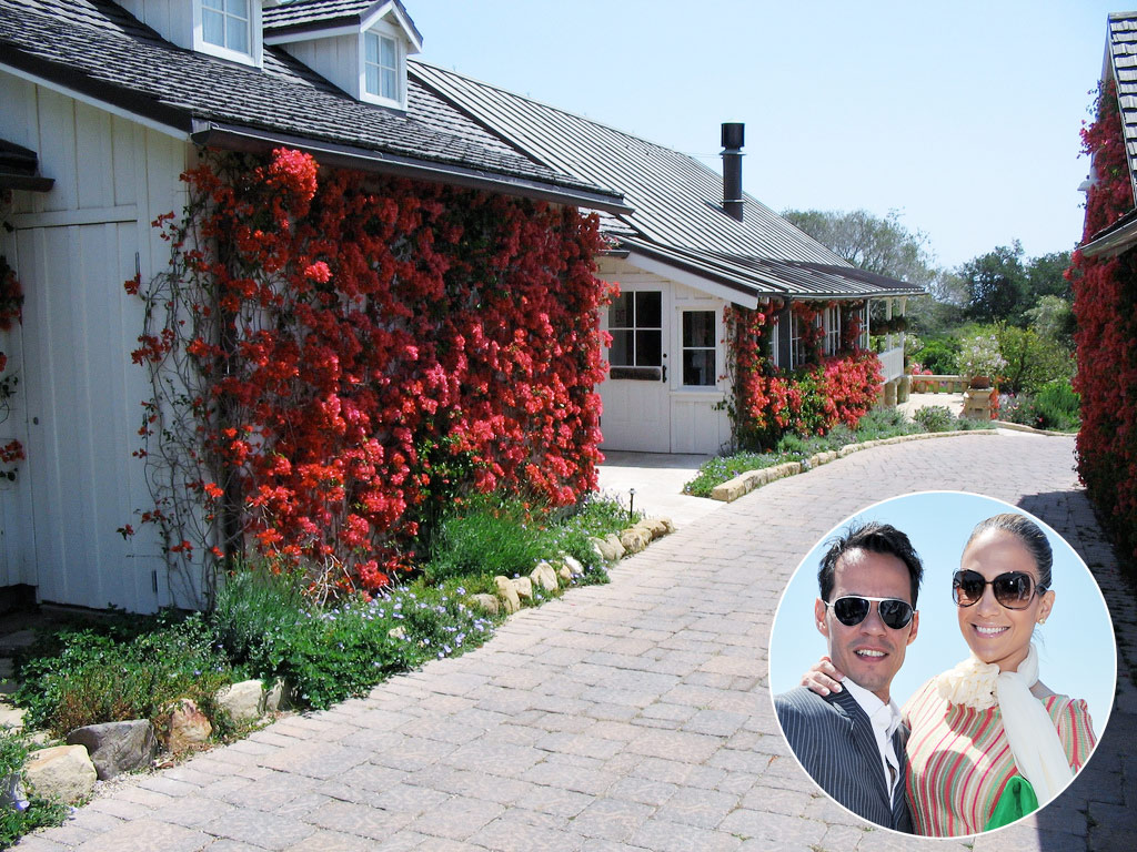 &lt;b&gt;Jennifer Lopez and Marc Anthony, San Ysidro Ranch, California&lt;/b&gt;
