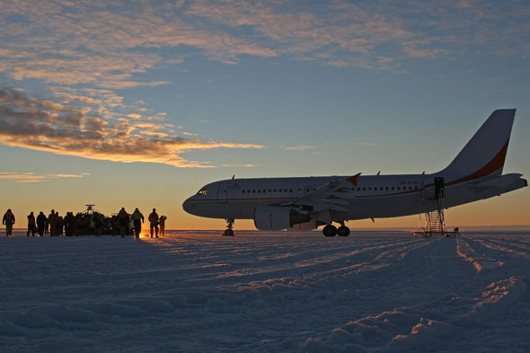 Ice Runway, Antarctica