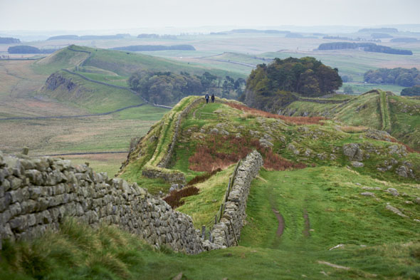 Hadrian's Wall Path, Northumberland
