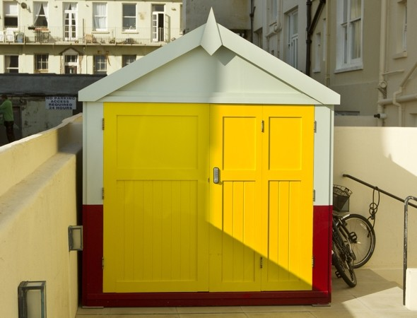 Pink Floyd star ordered to demolish Brighton beach hut