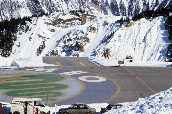 Courchevel Airport, France