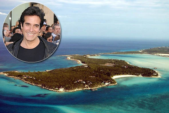 David Copperfield, Musha Cay, Bahamas