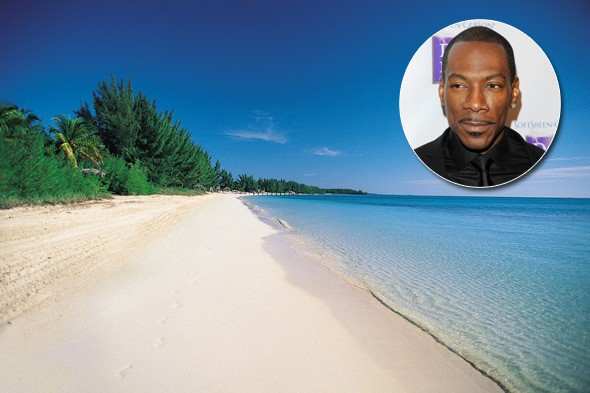 Eddie Murphy, Rooster Cay, Bahamas