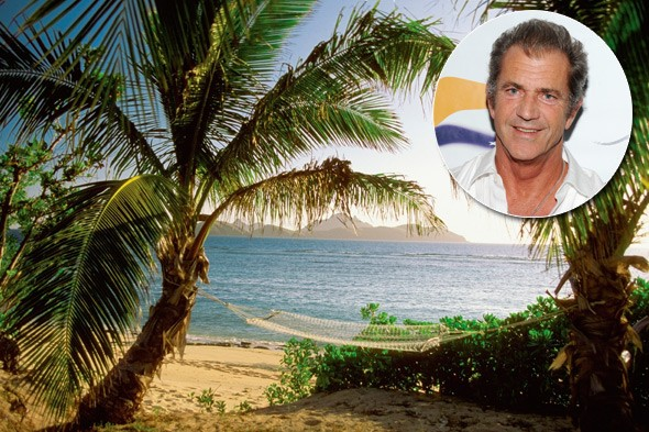 Mel Gibson, Mago Island, Fiji
