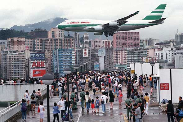 Kai Tak Airport, Hong Kong