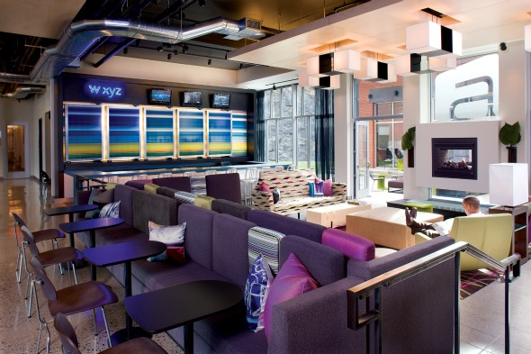 Aloft, London