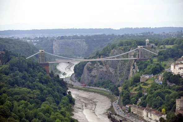 It's Clifton Suspension bridge, Avon