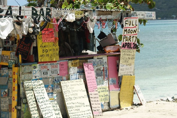 Bomba's Shack, Tortola, British Virgin Islands