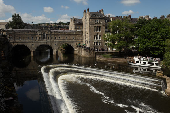 It's Pulteney Bridge, Bath