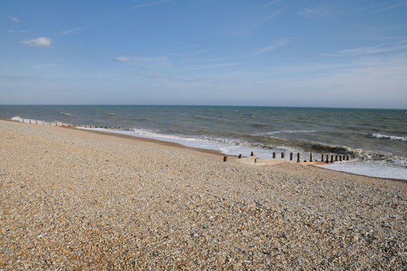Showing off their bombs: 87 explosives found on nudist beach in Kent