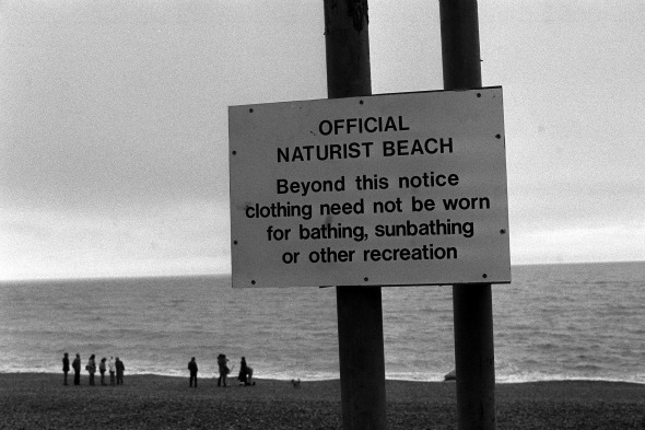 The UK's first public naturist beach opened in 1980.