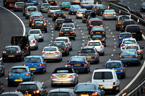 Great Half Term Escape Traffic Trouble Hits Britain And