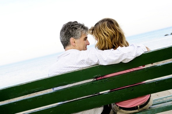 Summer loving: Over 55s have 'the most holiday flings'