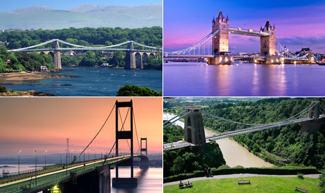 How many of the following architectural landmarks can you recognise?