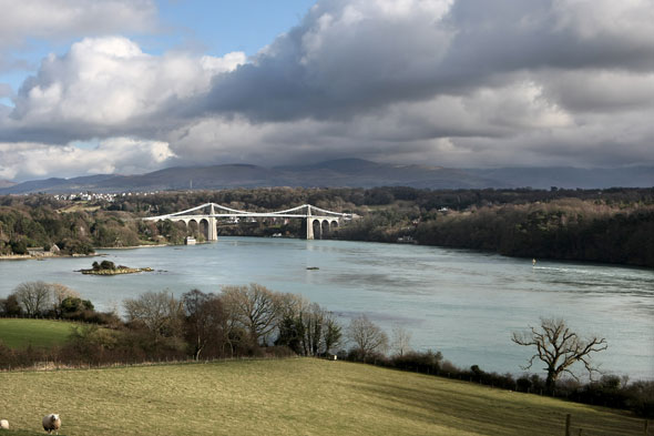 It's Menai Suspension bridge