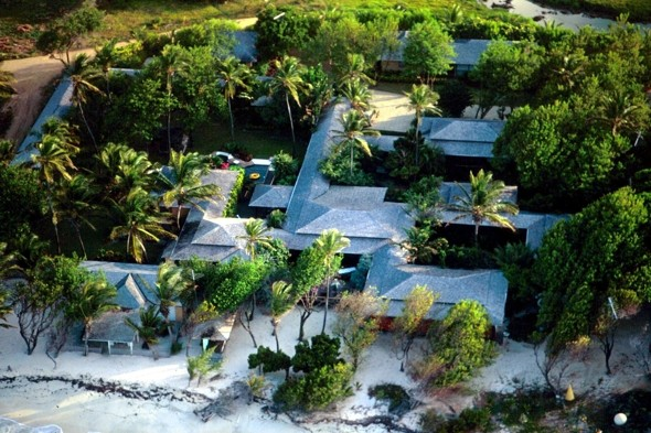 Mick Jagger owns a stunning beachfront home on this stunning island...
