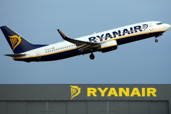 Ryanair flight forced to land as tape used 'to fix' pilot's window comes loose