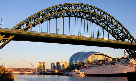 This bridge is the pride of the north east...