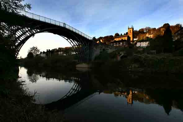 It's Ironbridge, Shropshire