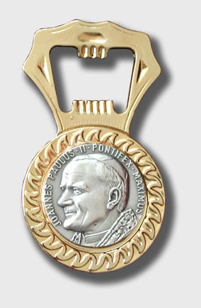 Pope bottle opener, Vatican