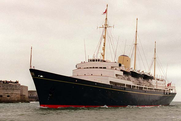 Who Wants Their Wedding Reception On The Royal Yacht