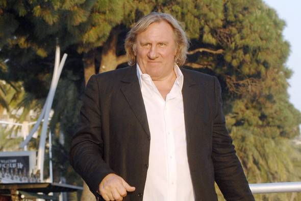 Gerard Depardieu needs the loo