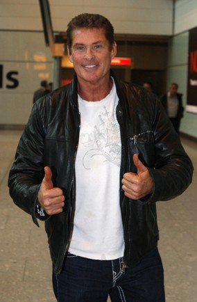 David Hasselhoff banned for having a tipple