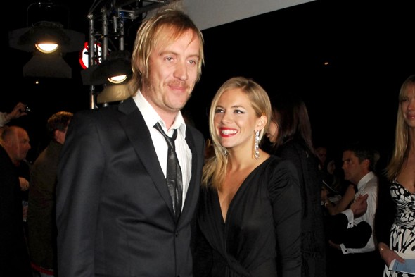 Sienna Miller and Rhys Ifans' frolic mid-air