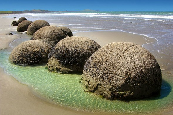 Moeraki Boulders, New Zealand