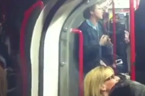Video: Man dancing on Tube pushed off by passenger, causes internet debate