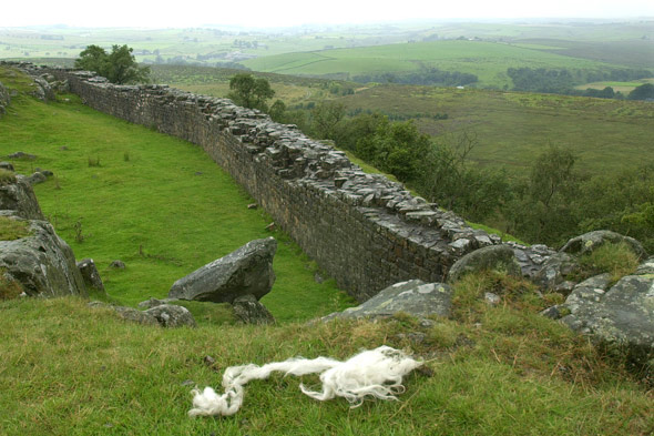 Hadrian's Wall, north east England