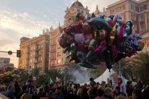 Celebrate in Malaga at a post-Christmas festival