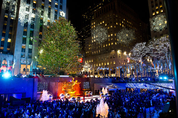 The Rockefeller Centre, New York
