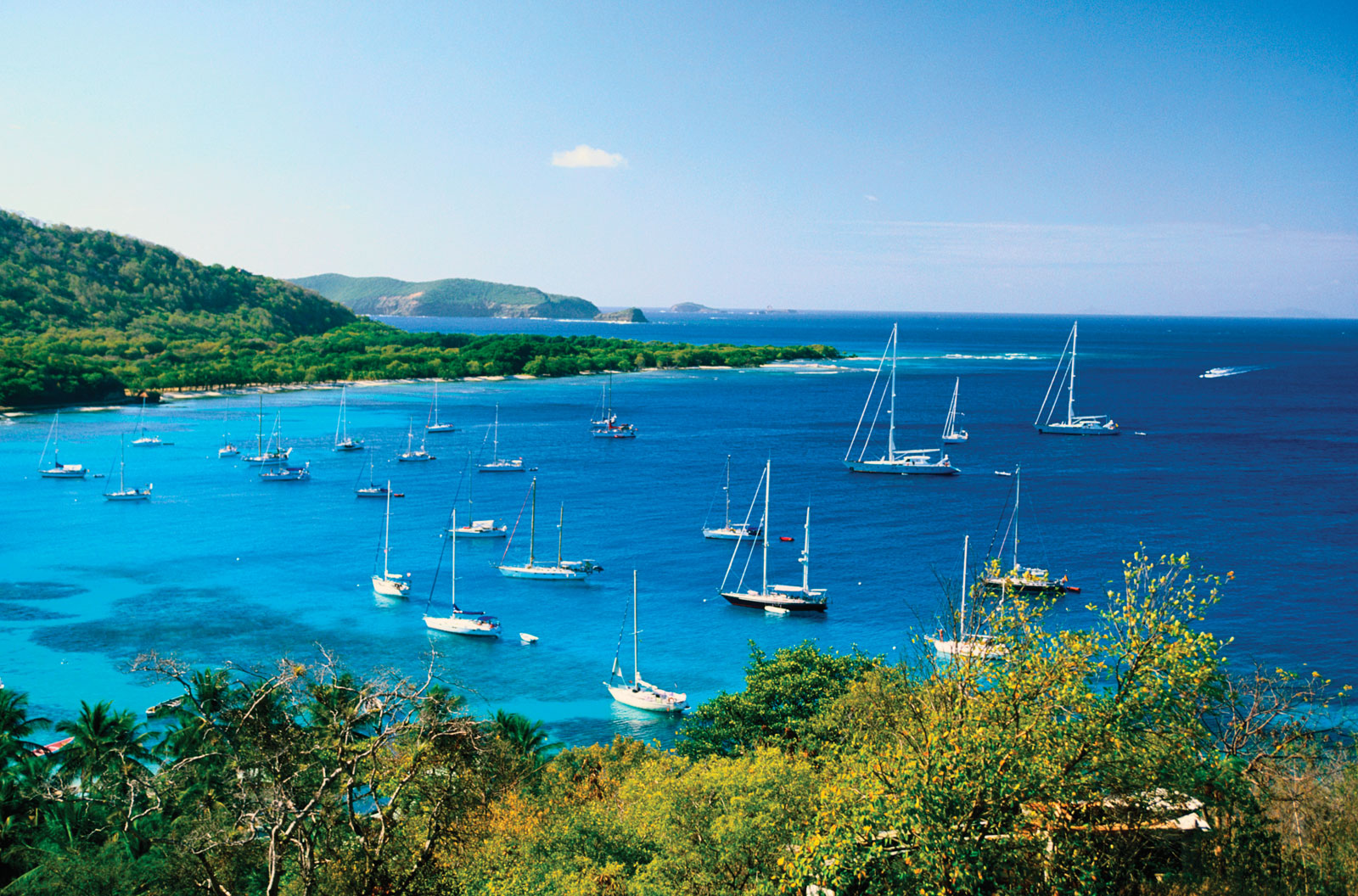 ...and it's also the perfect place for yachting holidays.
