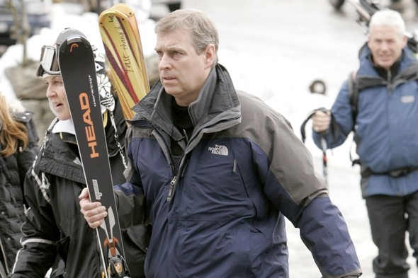 Prince Andrew jets off skiing - but who pays the £39,000 chalet bill?
