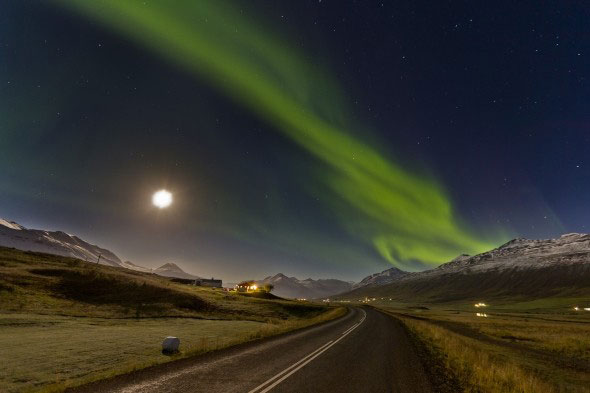 Amateur astronomers in Iceland