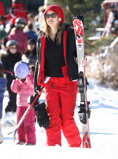 Kate Hudson in Aspen, Colorado